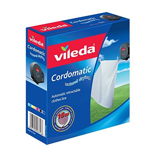 Vileda VIL102811 Cordomatic Corde à linge 15 mètres