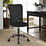OffiClever Ergonomic Office Mesh Support Modern Executive Mid Back Rolling Swivel Chair for...
