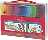 Faber-Castell 155560 - Maletín con 60 rotuladores, multicolor