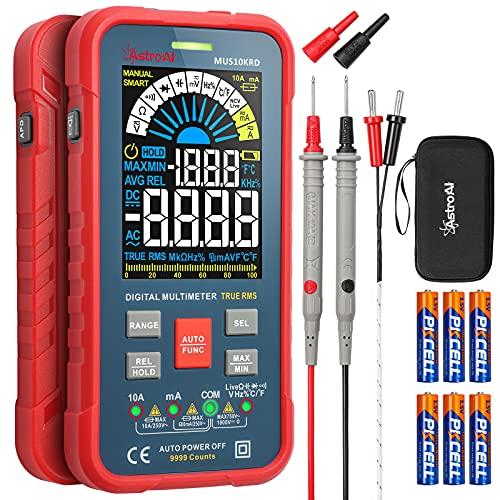 AstroAI Digital Multimeter 10000 Counts TRMS...