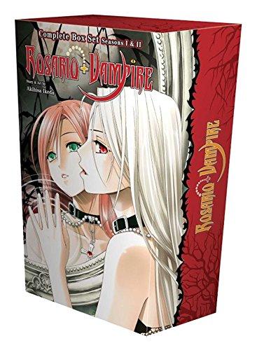 Rosario + vampire complete box set: volumes 1-10 and season ii volumes 1-14 with premium