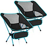 MH Zone 2 Pack Camping Chairs Backpacking Chair Portable Compact Ultralight Outdoor Folding Hiking Chair with Carry Bag for Outdoor Beach
