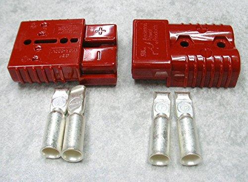 2個セット・アンダーソン コネクター SB50A バッテリー/電源コネクター 赤