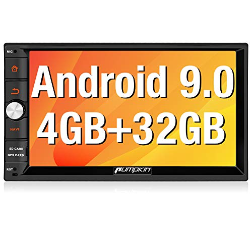 PUMPKIN Android 9.0 カーナビ 7インチ2din 32GB+4GB Bluetooth テザリングインターネット カーオーディオ ...