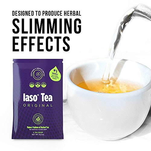 TLC Total Life Changes IASO Natural Herbal Detox Tea Bags - Single Pack (2 Tea Bags) 2 - My Weight Loss Today
