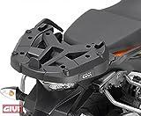 Givi TOPCAJ1MB ASE portaequipajes para Monokey, Monolock maletín para KTM 1050, 1190Adventure, Adventure R