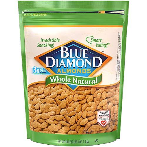 Blue Diamond Almonds, Raw Whole Natural, 40 oz