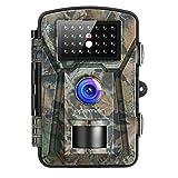 APEMAN Caméra de Chasse 12MP 1080P avec 26 Capteurs Infrarouges LED de 940nm. Portée en Mode...