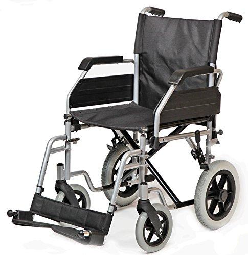 Ayudas Dinámicas - Silla plegable 'apolo' rueda 300 ,talla 43 cm