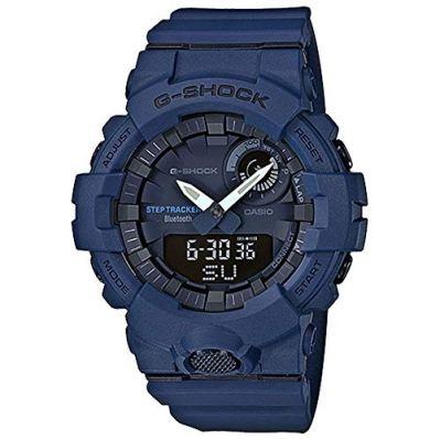 Casio G-Shock Men039;s Watch Blue 48.6mm Resin GBA800-2A