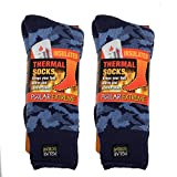 Polar Extreme Insulated Thermal Socks - Blue Camouflage (Pack of 2)