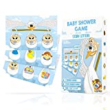 Baby Shower Games | Baby Shower Scratch Off Game - Stork Lottery Ticket Raffle Cards | 2 Winners | Gender Neutral, Boy, Girl | Funny Activity for Diaper Raffles, Ice Breakers, Door Prizes for Any Decorations