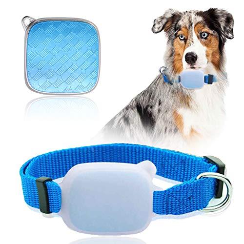 GreeSuit GPS Tracker Collier pour animaux de compagnie et chats Chiens, Tracker avec portée illimitée, Moniteur d'activité, Dispositif de suivi étanche et moniteur anti-perte