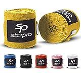 Starpro mexicanas Vendas de Mano Thump n 'Loop  Vendajes de algodón Tejido con Carbono Colores múltiples  para Boxeo Muay Thai Kickboxing Karate Lucha Artes Marciales Gimnasio Fitness 2.55m 3.5m 4.5m