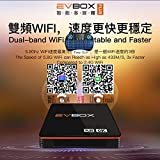 2020最新のEvbox Evpad PLUS TVボックス2.4G 5G WIFIネットワークHONGKONG TAIWAN CHINA JAPAN US LIVE CHANNE