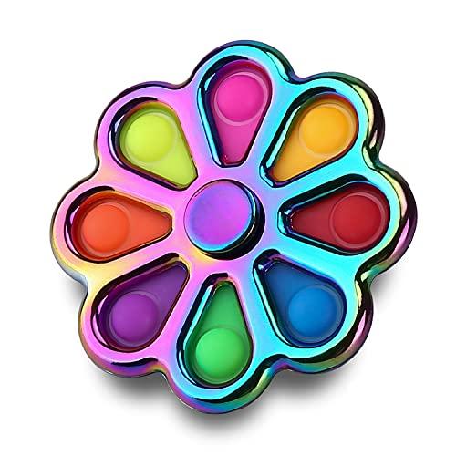 Kiss Monkey Flower Simple Dimple Fidget Toys, Multi-Color...