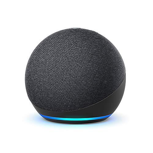Echo Dot (4e génération), Reconditionné Certifié, Anthracite | Enceinte connectée avec Alexa
