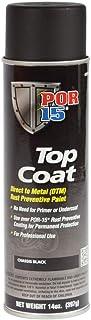 POR-15 45918 Top Coat Chassis Black Spray Paint 15 fl. oz.
