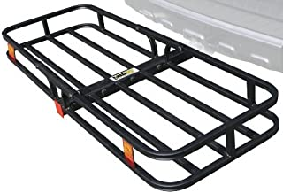 "MaxxHaul 70107 Hitch Mount Compact Cargo Carrier – 53"" x 19-1/2"" –.."