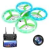 Drone avec caméra 1080P, EACHINE-E65HW Drone radiocommandé Drone pour...
