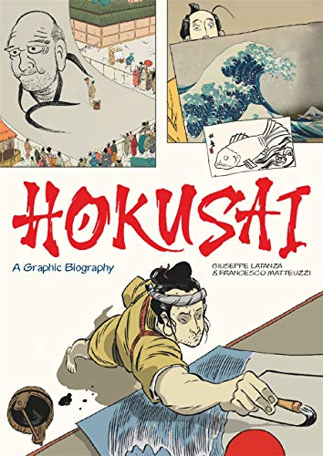 Hokusai: a graphic biography