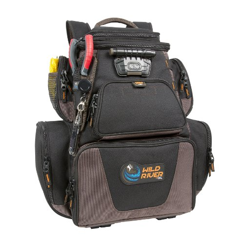 Wild River Nomad by CLC WT3605 Tackle Tek Nomad XP Lighted Backpack with USB Charging System