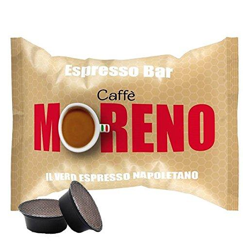 I1655 CAFFE' MORENO 200 CAPSULE CIALDE ESPRESSO BAR A MODO MIO