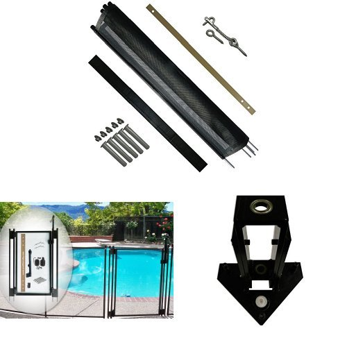51g3zIzrhqL - 7 Best Pool Fences to Keep Your Swimming Areas Safe
