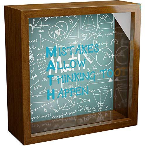 NA Math Teacher Gifts | 6x6x2 Memorabilia Shadow Box with...