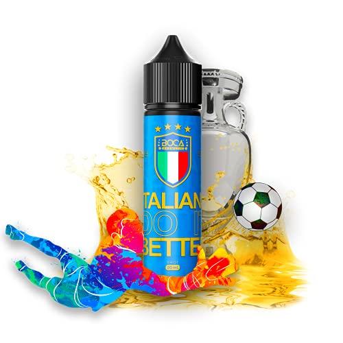 Aroma Liquido Boca Aromatic - Europei 2020 - Limited Edition - ITALIA - Aroma Concentrato Fruttato 20ml - Granita di Anguria e Limone - Prodotto 100% Italiano - Liquido Glicole Propilenico Puro 99,7%