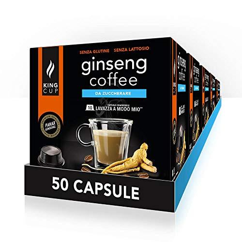 50 capsule Lavazza* A Modo Mio* - Caffè al Ginseng da Zuccherare