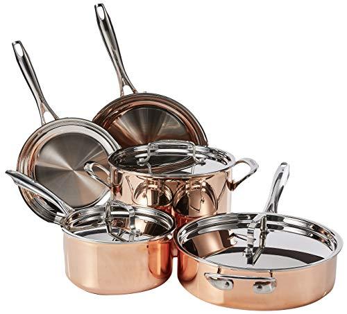 Cuisinart Copper Collection Cookware Set, Medium