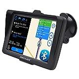 AWESAFE Navegador GPS para Coches con Visera y Bluetooth de 7 Pulgadas, con Mapas Últimos y...