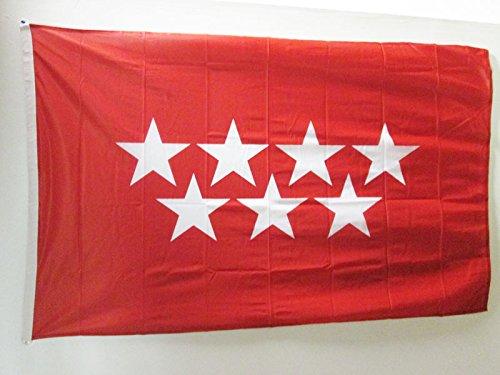 AZ FLAG Bandera de la Comunidad DE Madrid 150x90cm Uso Exter