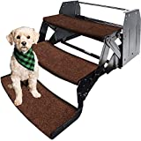 RVMATE 3 Pack RV Step Rugs 22 Inch RV Step Covers Wrap Around Camper Stair Rugs for Radius Steps