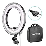 Neewer Flash Macro 36cm Exterior 25cm Interior 400W 5500K, Lámpara Regulable Fluorescente Luz...
