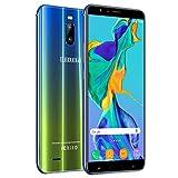 Telephone Portable Debloqué 4G 6 Pouces HD 3Go+16Go/128Go ROM Android 8.1...