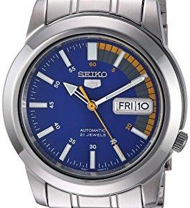 Seiko Men's SNKK27 Seiko 5 Stainless Steel Automatic Watch 39