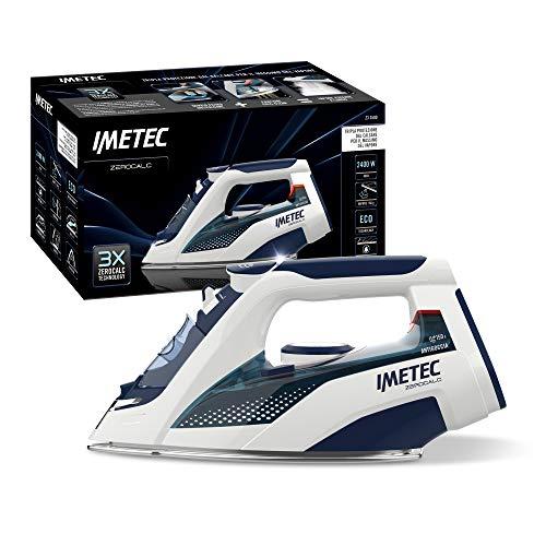 Imetec ZeroCalc Z3 3500 Ferro da Stiro, Tecnologia Anticalcare, Piastra Inox 2400 W, Colpo Vapore 150 g