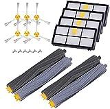 AplusTech Kit Recambios Cepillos Filtros y Accesorios para iRobot Roomba Serie 800 805 850 860 865 866 870 871 880 886 890 891 895 896 900 960 965 966 980 - Pack de 20 PCS.