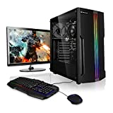 Pack Ordenador PC AMD Athlon 3000G 2X 3.50GHz  24' Full-HD Monitor  Teclado y ratn Gaming  AMD Radeon Vega 3  8GB DDR4  Windows 10  1TB Disco Duro