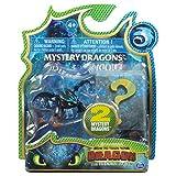 Dragons 3 - 6045092 - Jeu enfant - Figurine à collectionner - Figurine Mystere - Pack de 2 - Film Dragons 3 Le Monde Caché - Modèle aléatoire