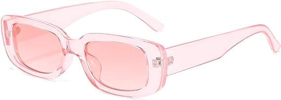 light pink retro sunglasses face shape guide