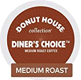 Donut House Collection Diner's Choice, Single-Serve Keurig K-Cup Pods, Medium Roast Coffee, 72 Count