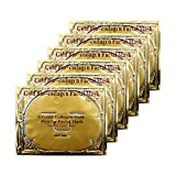 Adofect 6 Pieces 24K Gold Gel Collagen Crystal Facial Mask For Anti...
