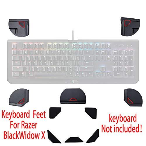 HUYUN New The Gaming Keyboard Feet Stick Mas Foot pad for Razer Blackwidow Ultimate 2014 2013 Tournament Edition RZ03-0176 Gaming Keyboard