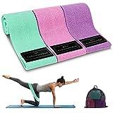 Bandas Elasticas Musculacion, 3 Piezas Bandas Elásticas Fitness con 3 Niveles para...