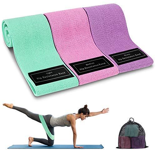 Bandas Elasticas Musculacion, 3 Piezas Bandas Elásticas Fitness con 3...