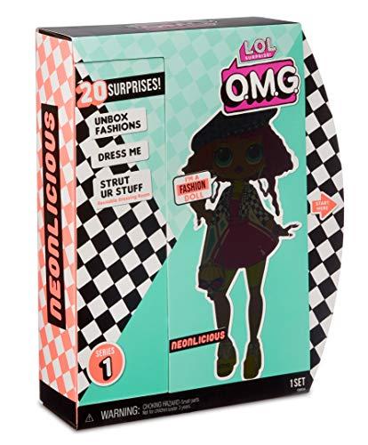 Image 9 - MGA- Poupée-Mannequin L.O.L O.M.G. Neonlicious avec 20 Surprises Toy, 560579, Multicolore