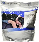 Chattanooga ColPac Cold Therapy, Black Polyurethane, X-Large/Oversized Cold Pack (12.5' x 18.5')